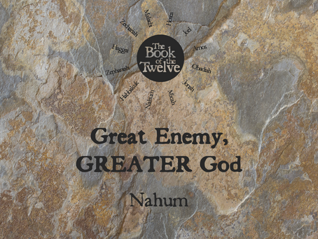Great Enemy, GREATER God