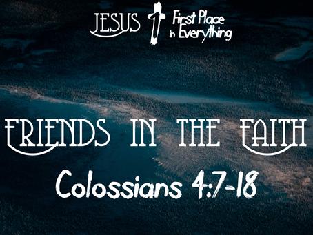 Friends in the Faith
