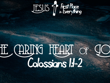The Caring Heart of God