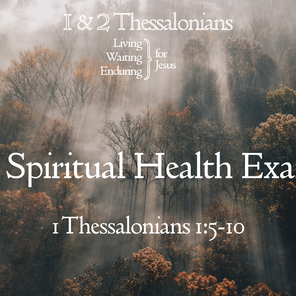 A Spiritual Health Exam