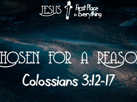 Chosen for a Reason