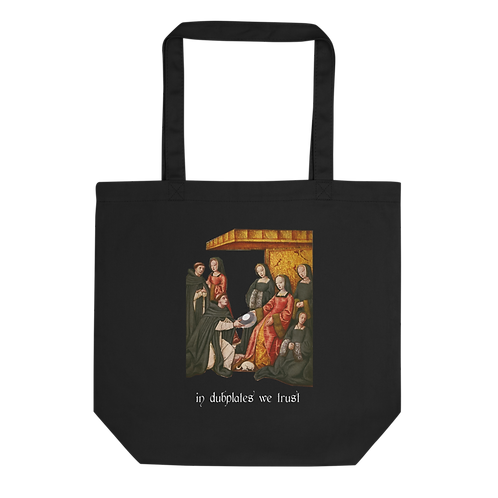 In Dubplates We Trust Eco Tote Bag