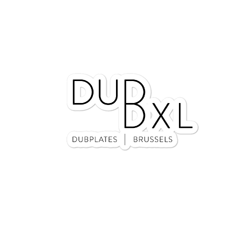 Bubble-free DuBXL stickers