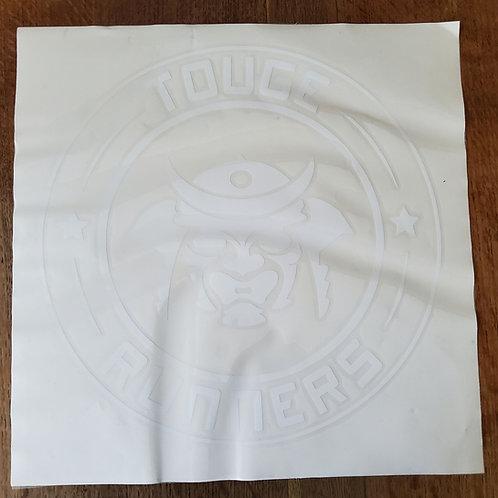 Samurai circle transfer sticker 410mm