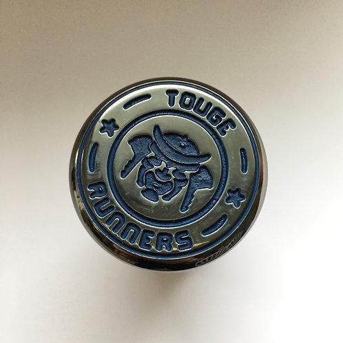 Gunmetal Blue Gear Knob