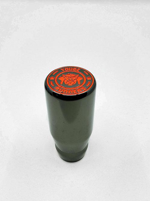Gunmetal Orange Gear Knob