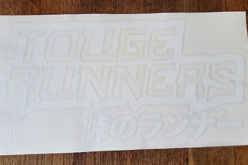 Touge Runners sticker 290x195mm