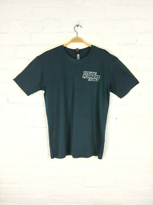 Touge Runners T-shirt navy with grey logo