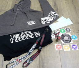 STICKERS LANYARDS HOODIES