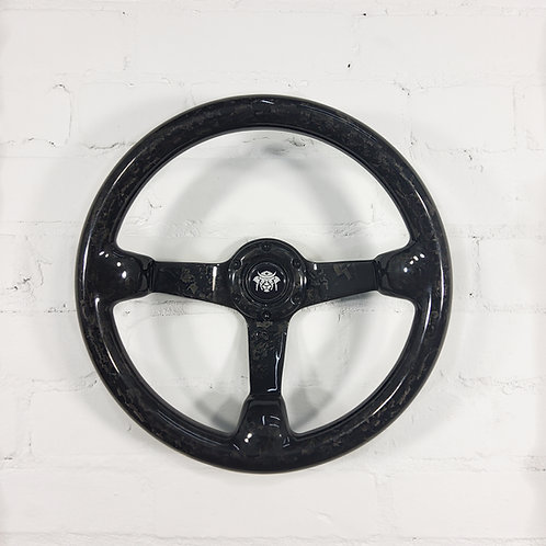 Forged carbon steering wheel 350mm (pre order)