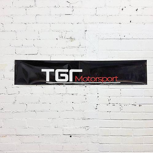 PRE ORDER - TGR Motorsport sunstrip in black