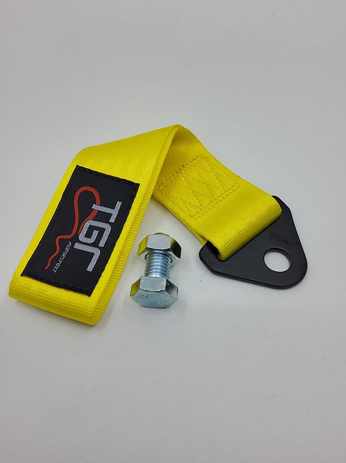 Yellow TGR Tow Strap