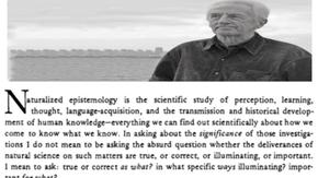 Barry Stroud's Critique of Naturalised Epistemology