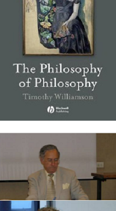 Metaphilosophy: P.M.S Hacker vs. Timothy Williamson