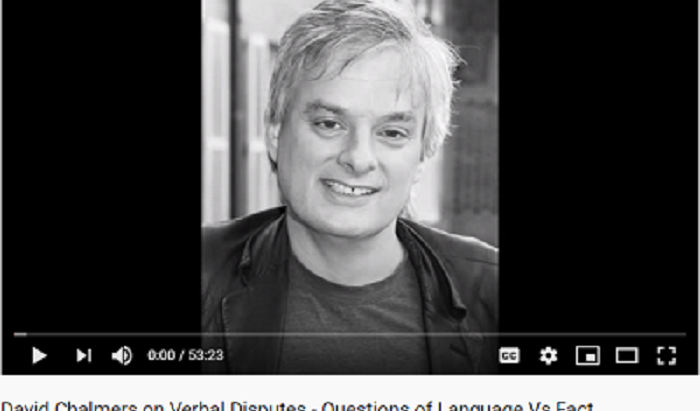 Merely Verbal Ado About Nothing: David Chalmers, Consciousness, Facts