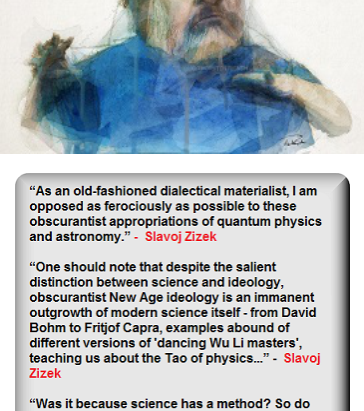 Slavoj Žižek's Philosophy of Science: Quantum Obscurantists and Ideology