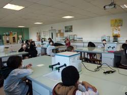 Visite du Collège - Cours de SVT