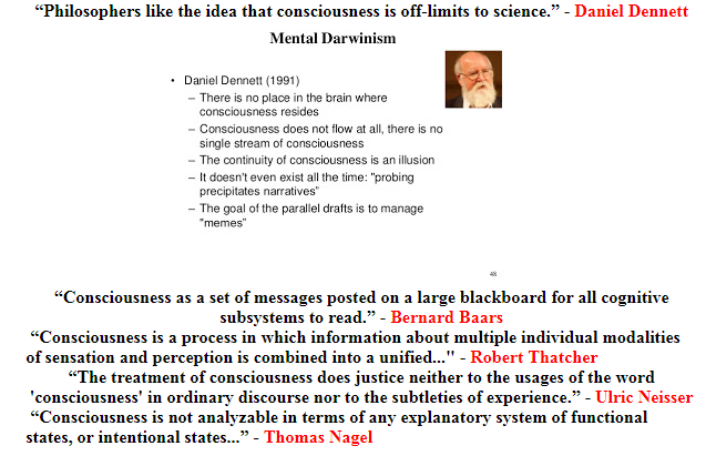 On Definitions of 'Consciousness': Dennett and Others (2)