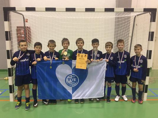 Peregi újévi kupán vett részt az U11-10-es csapatunk