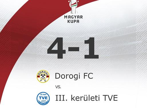 Magyar Kupa 9. forduló első mérkőzés