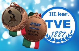 Bravúr bronz befejezésül a Női OB I/B bajnokságban