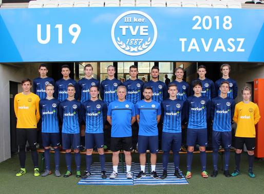 U19 Évértékelő 2017-2018