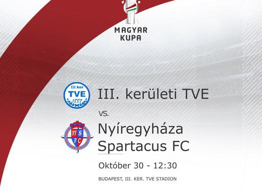 Magyar Kupa 7. forduló beharangozó