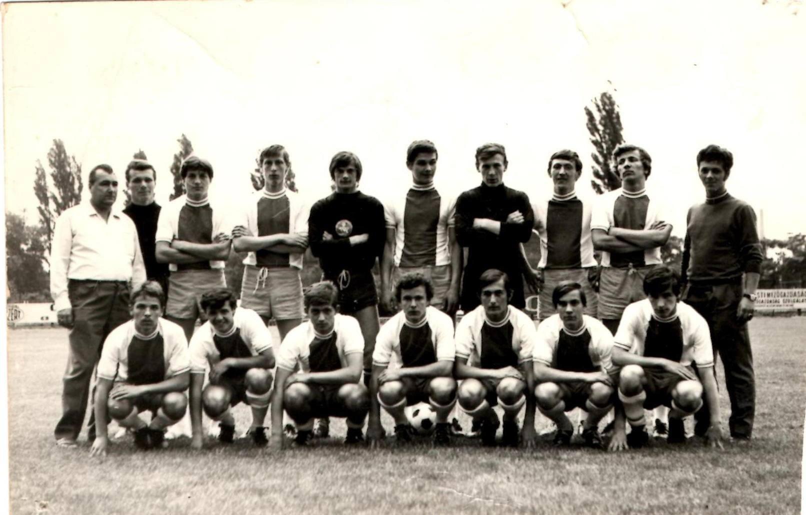 .III.KER.TTVE ifjúsági labdarúgó csapat(NB I...1970)