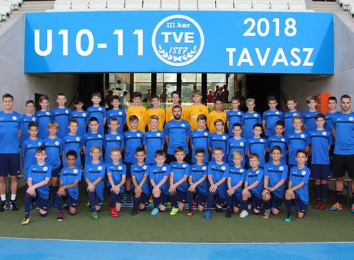 U10-11 Évértékelő 2017-2018