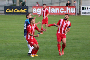 NBIII. 11. BALATONFÜREDI FC - III. KER. TVE 2 - 1 (2-0)