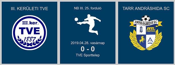 TVE-ANDRÁSHIDA 0-0 2019.04.28_