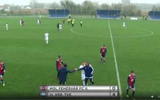 NBIII. 17. MOL FEHÉRVÁR FC - III. KER. TVE 0-4 (0-1)