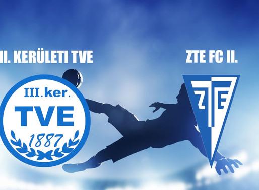 Beharangozó NBIII. TVE - ZTE II.