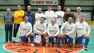 A Veterán tornát a III. kerületi TVE csapata nyerte