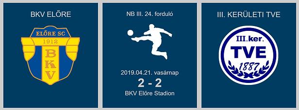 BKV-TVE 2-2 2019.04.21.
