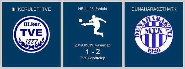 TVE-DUNAHARASZTI 1-2 2019.05.19.