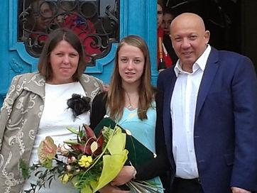 Suppan Emma, Kőkúti Bianka, Hoffmann Teréz szakosztályvezető, Garadnai Réka, Fodor Nikolett