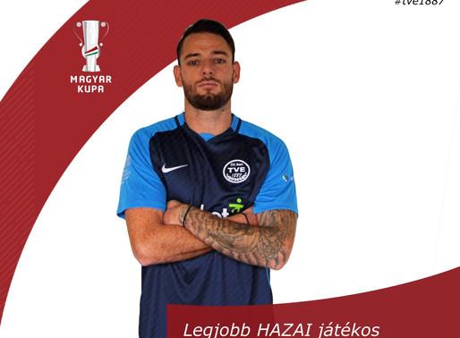 Balázs Richárd lett a Magyar Kupa mérkőzés legjobbja