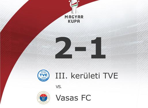 III. KER TVE - VASAS FC 2 - 1 (1 - 1)