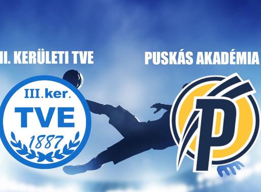 Beharangozó NB III. TVE - PUSKÁS