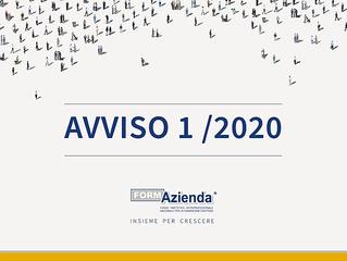 Avviso 1/2020 FormAzienda