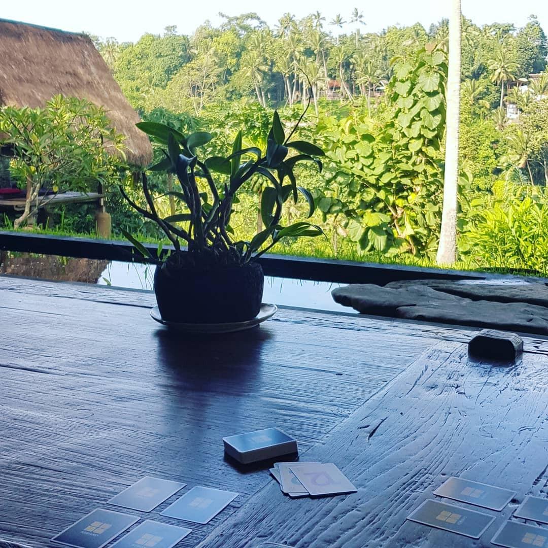 A Ubud en Indonésie