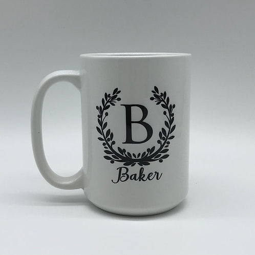 Laurel Wreath Mug