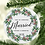 Thumbnail: First Christmas Married Ornament