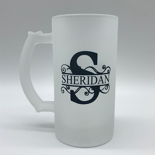 Sheridan Frosted Beer Stein