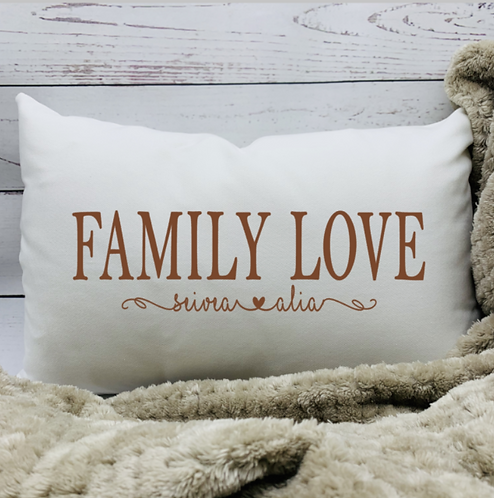Family Love Pillow