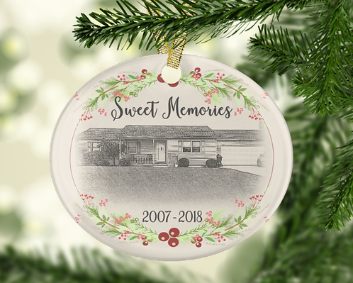 Sweet Memories Home Ornament