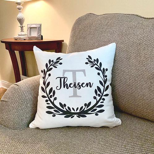 Laurel Wreath II Pillow