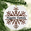 Thumbnail: Plaid Snowflake Ornament