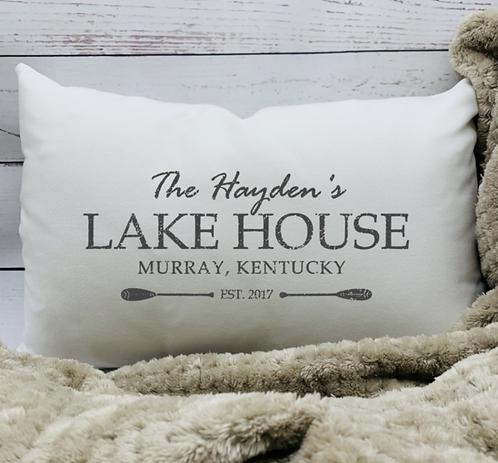 Lake House Pillow